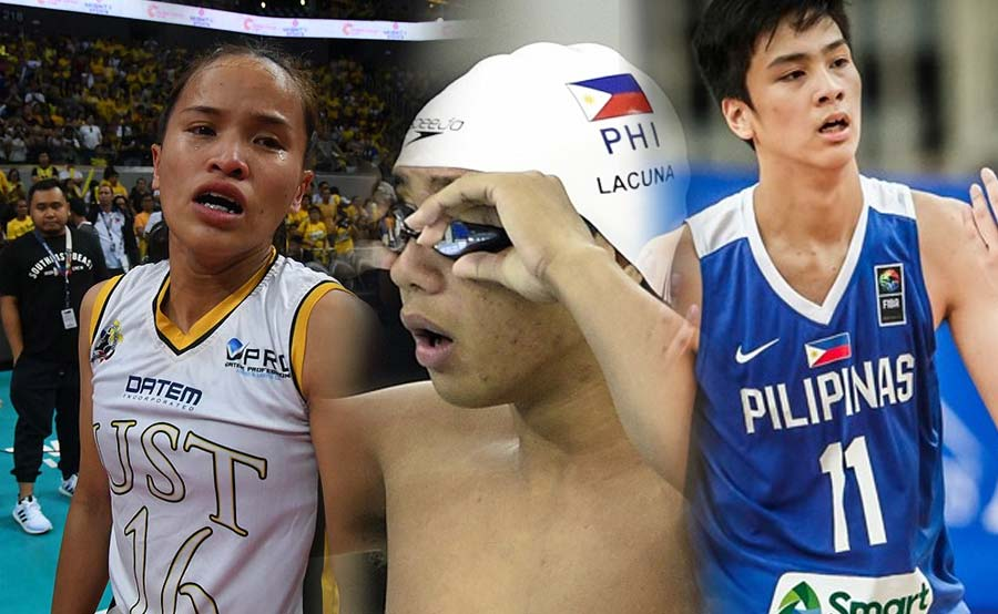 Rondina, Sotto, Lacuna Athlete of the Year ng UAAP Season 81
