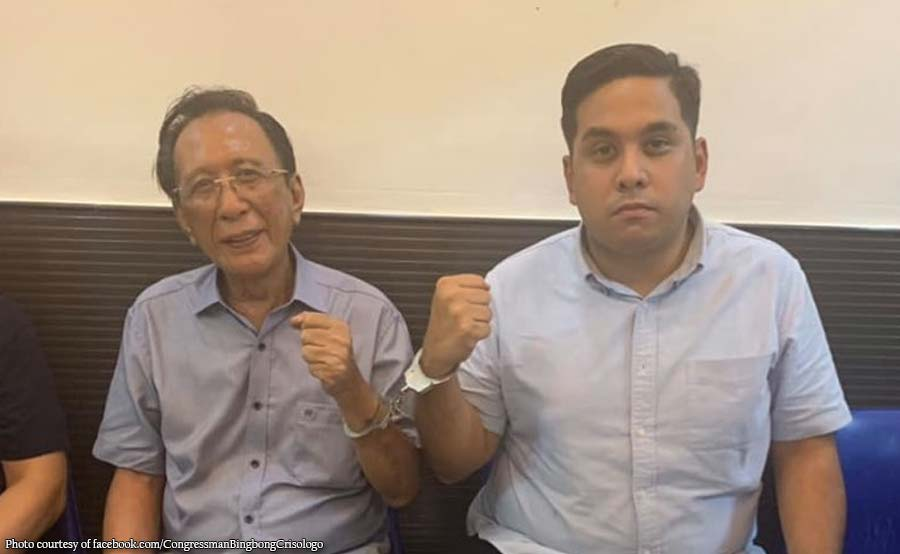 QC mayoralty candidate Crisologo inaresto