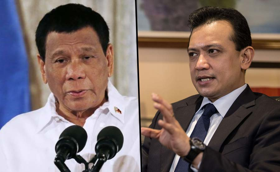 Duterte: Trillanes feeling matapang