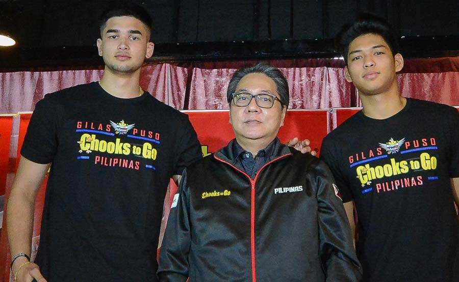 UP Fighting Maroons hindi Paras, Rivero, Akhuetie team