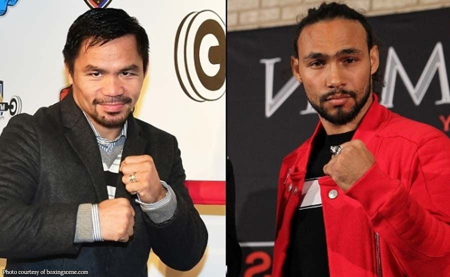 Bakbakan nina Pacquiao, Keith Thurman magaganap sa July