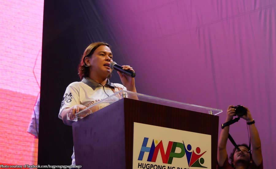 Inday Sara hindi makikialam sa Kongreso sa usapin ng speakership