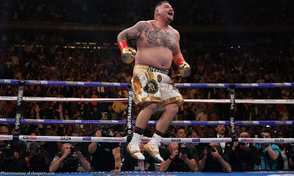Andy Ruiz pinataob si 'undefeated' Anthony Joshua