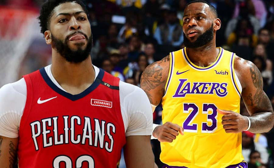 LeBron may partner na: Davis biyahe na pa-Lakers!