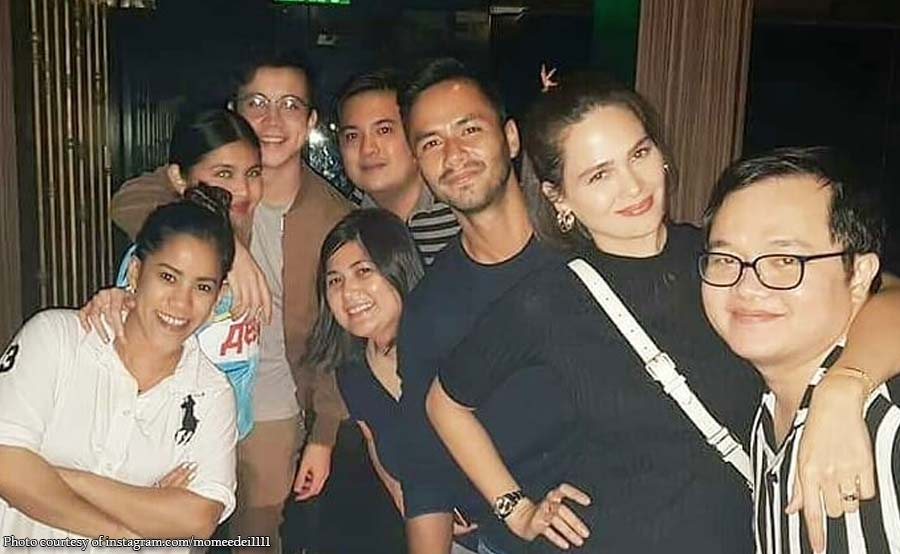 Arjo todo akbay kay Maine sa bonding ng 'Daddy's Gurl' cast