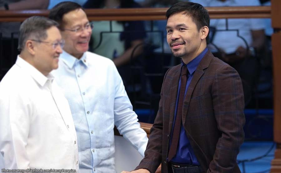 Speakership race: Pakikisawsaw ni Pacquiao sinopla ni Suarez