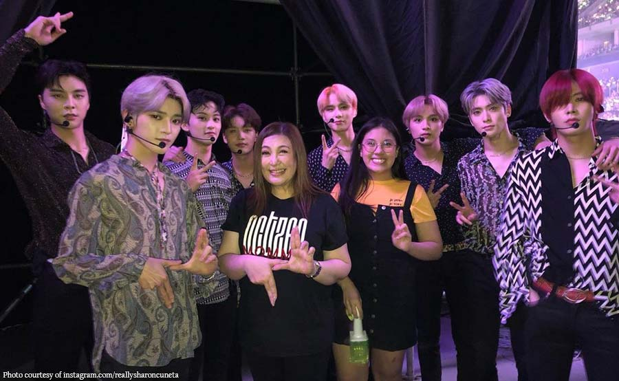 Sharon, fangirl mode sa Korean boy group NCT 127