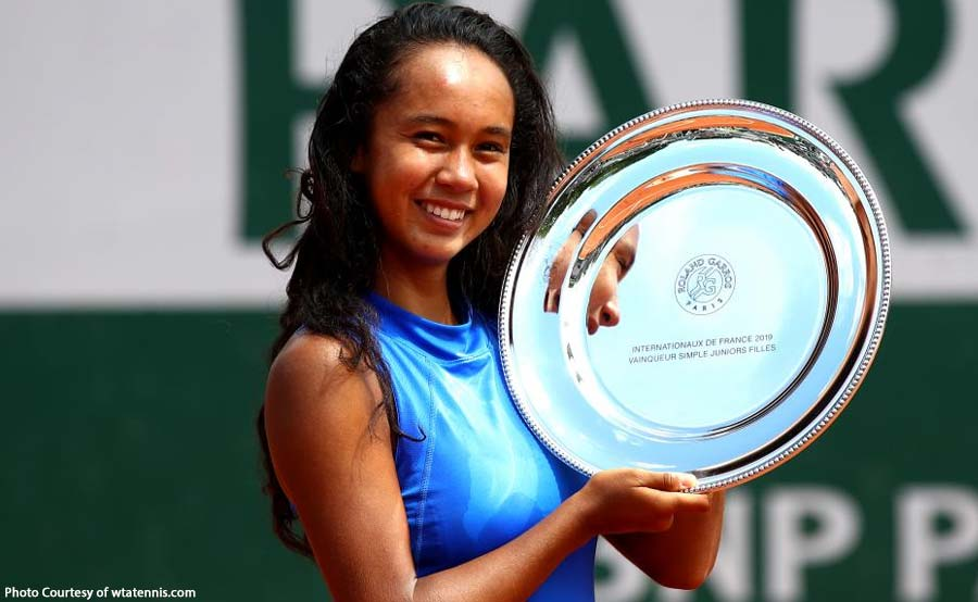 Half-Pinay teenager wagi sa French Open