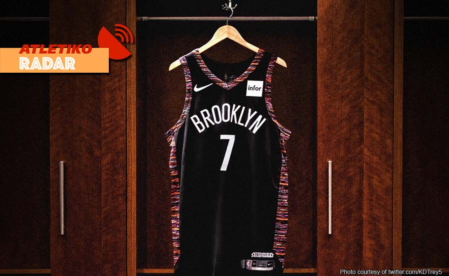 Durant iiwan ang 35, palit jersey number