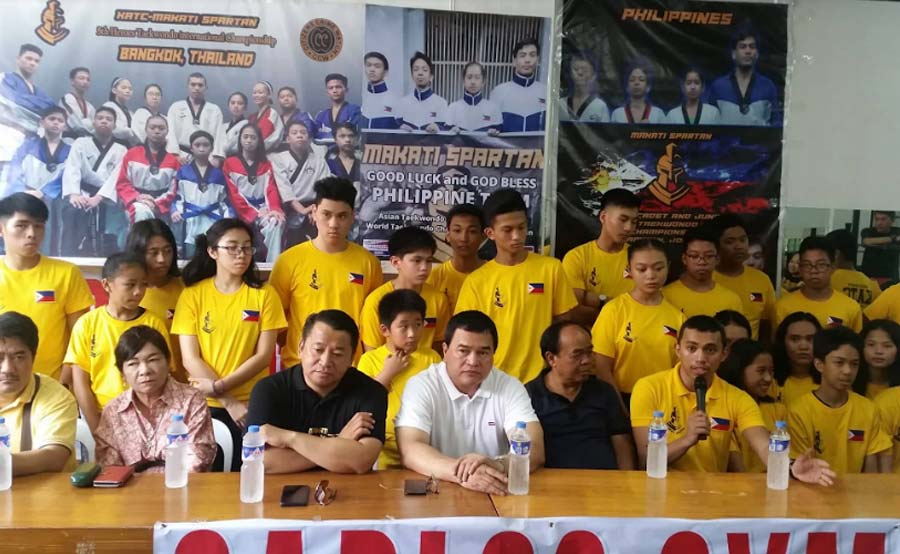 Peña: Kasilawan Taekwondo Club, sisipa sa international competition