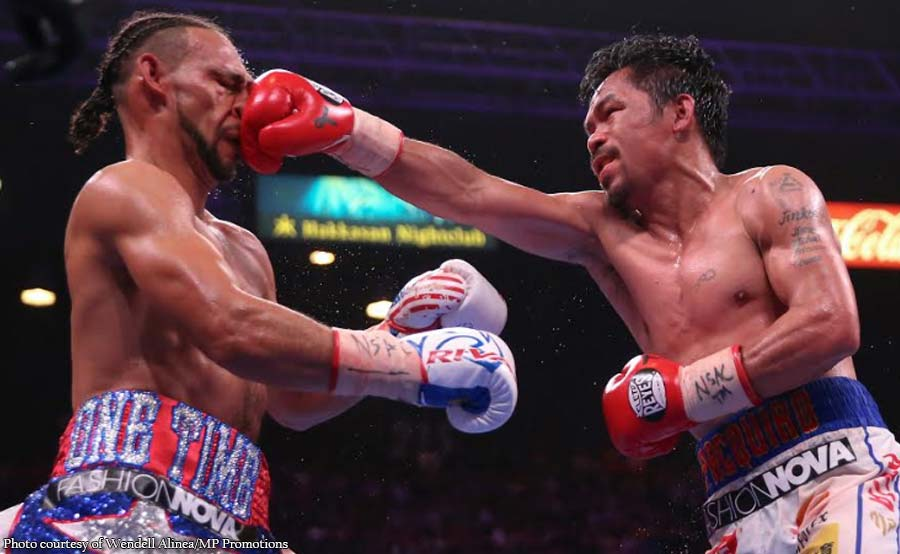 Gusto pa ng rematch: Pacquiao legendary champion! - Thurman