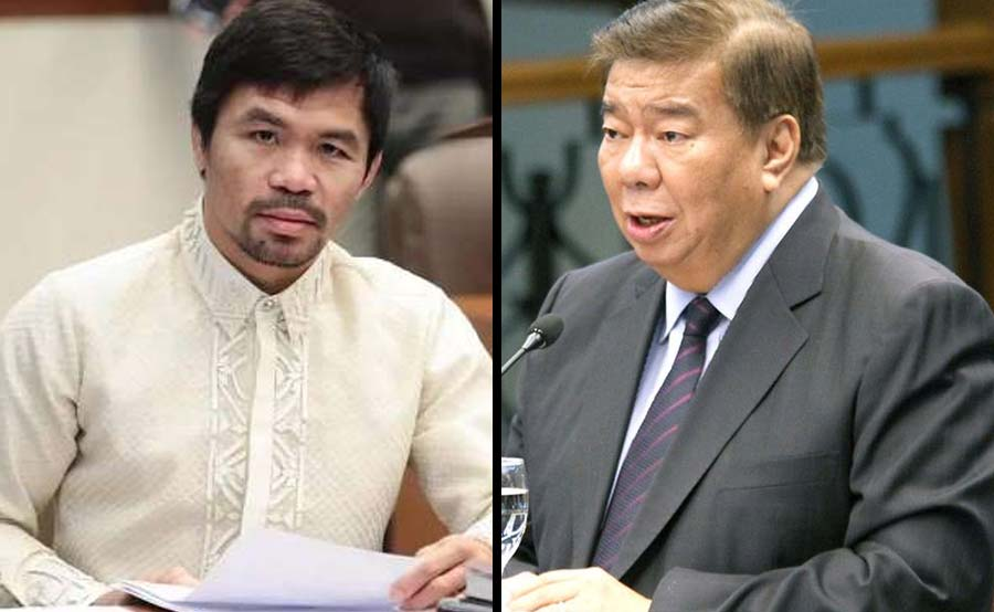 Pacquiao knockout kay Drilon sa death penalty debate