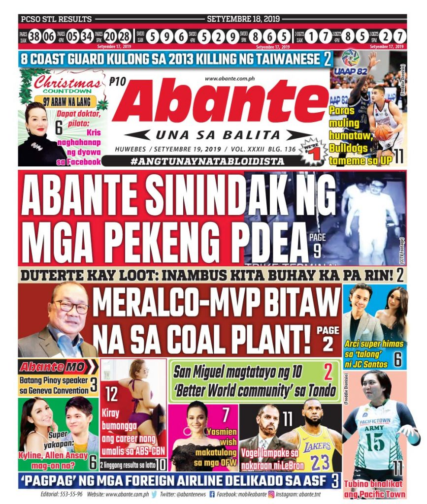 abante-front-page-19-09-2019