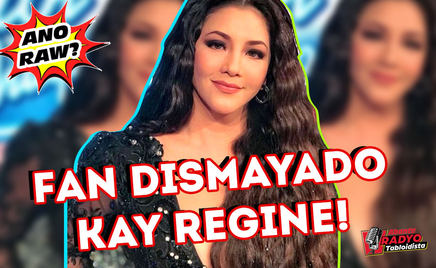 ANO RAW? | Fan dismayado kay Regine
