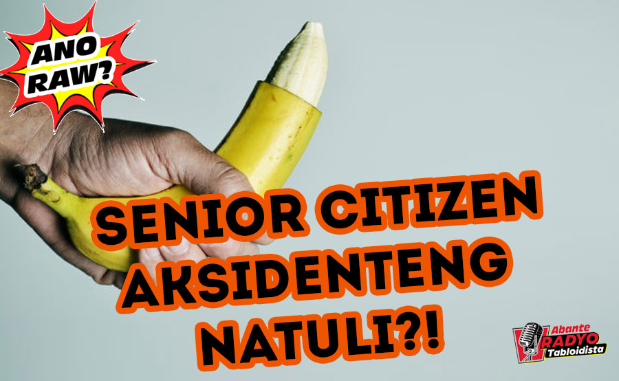 ANO RAW?: Ospital aksidenteng natuli ang senior citizen?