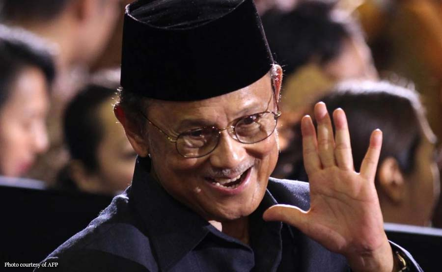 Dating Indonesian president Habibie, pumanaw