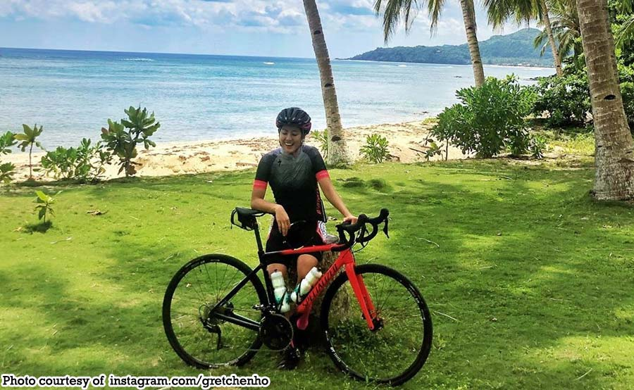 Achievement unlocked: Gretchen Ho nag-bike nang 128km sa Siargao