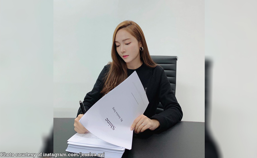 Jessica Jung may ire-release na libro