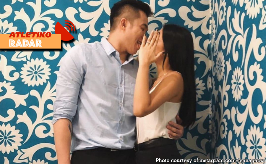 Desiderio engaged na sa UAAP courtside reporter!