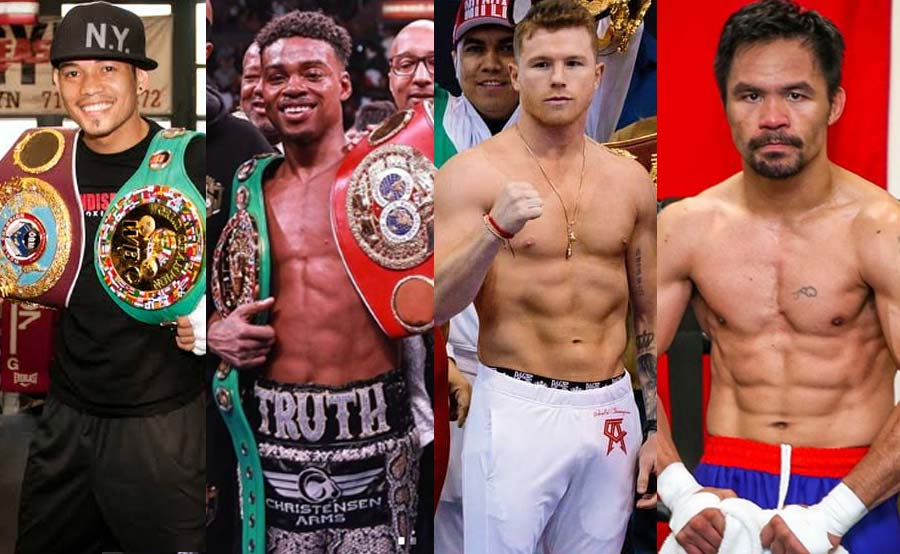 Babanggain sina Donaire, Spence, Alvarez! Pacquiao nominado sa Fighter of the Year