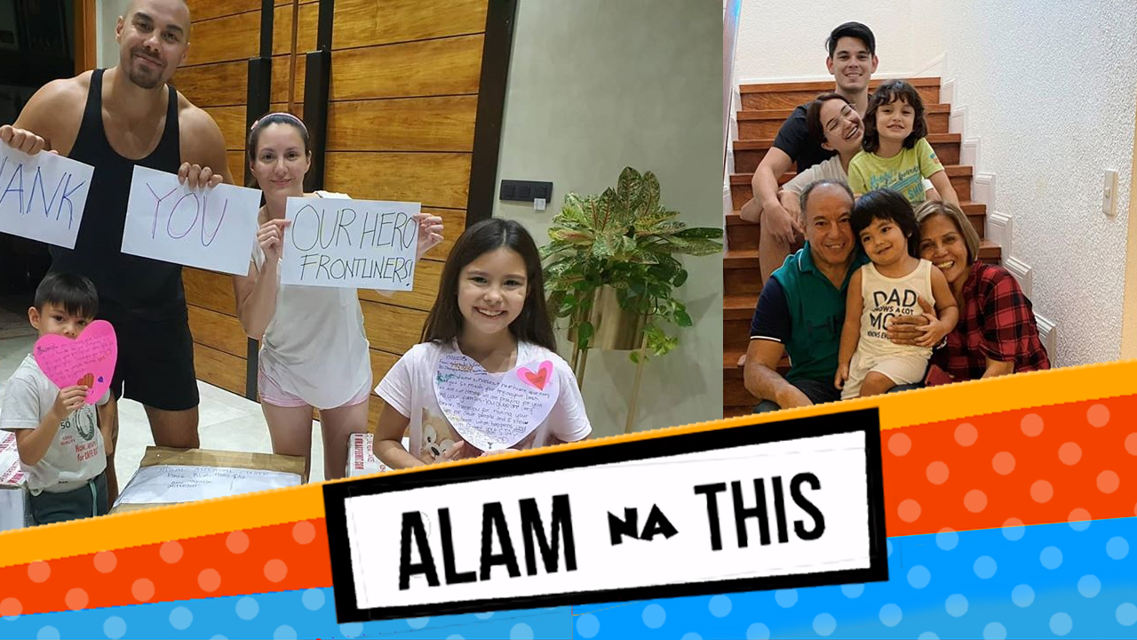 More family time ang mga celebrity parents sa isinagawang enhanced community quarantine, ilan sa mga ito ay sina Marian Rivera, Melai Cantiveros - Francisco, Judy Ann Santos, Kaye Abad at Sarah Lahbati