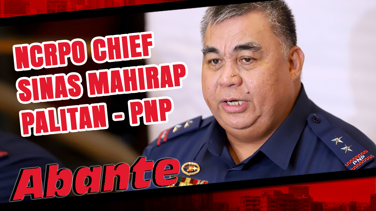 Hindi sisibakin si Police Major General Debold Sinas bilang hepe ng National Capital Region Police Office (NCRPO).