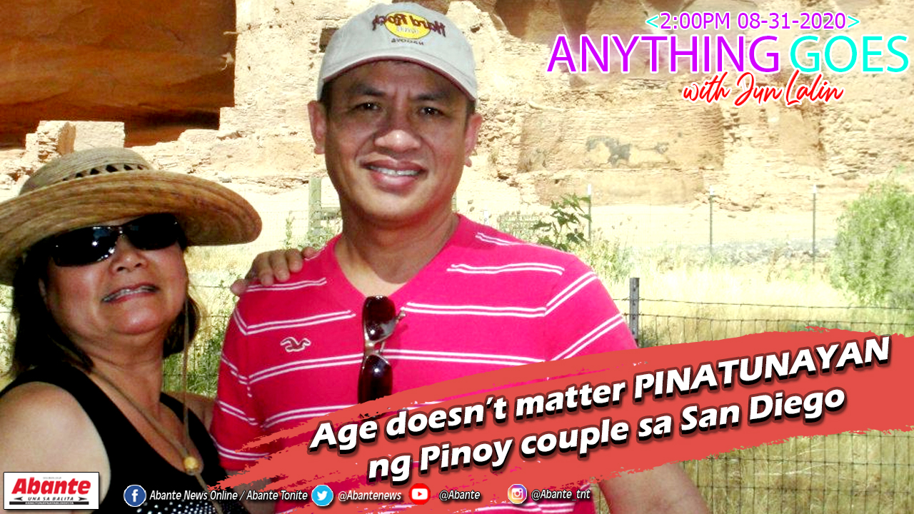 Age doesn't matter PINATUNAYAN ng Pinoy couple sa San Diego