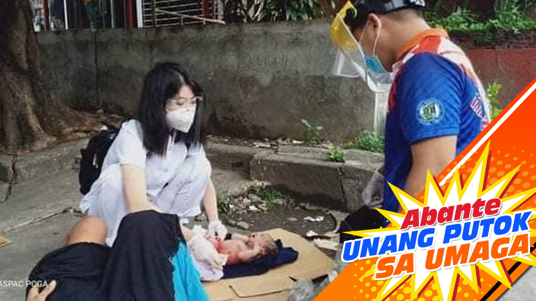 CALL OF DUTY | Nurse nagpaanak sa kalsada!