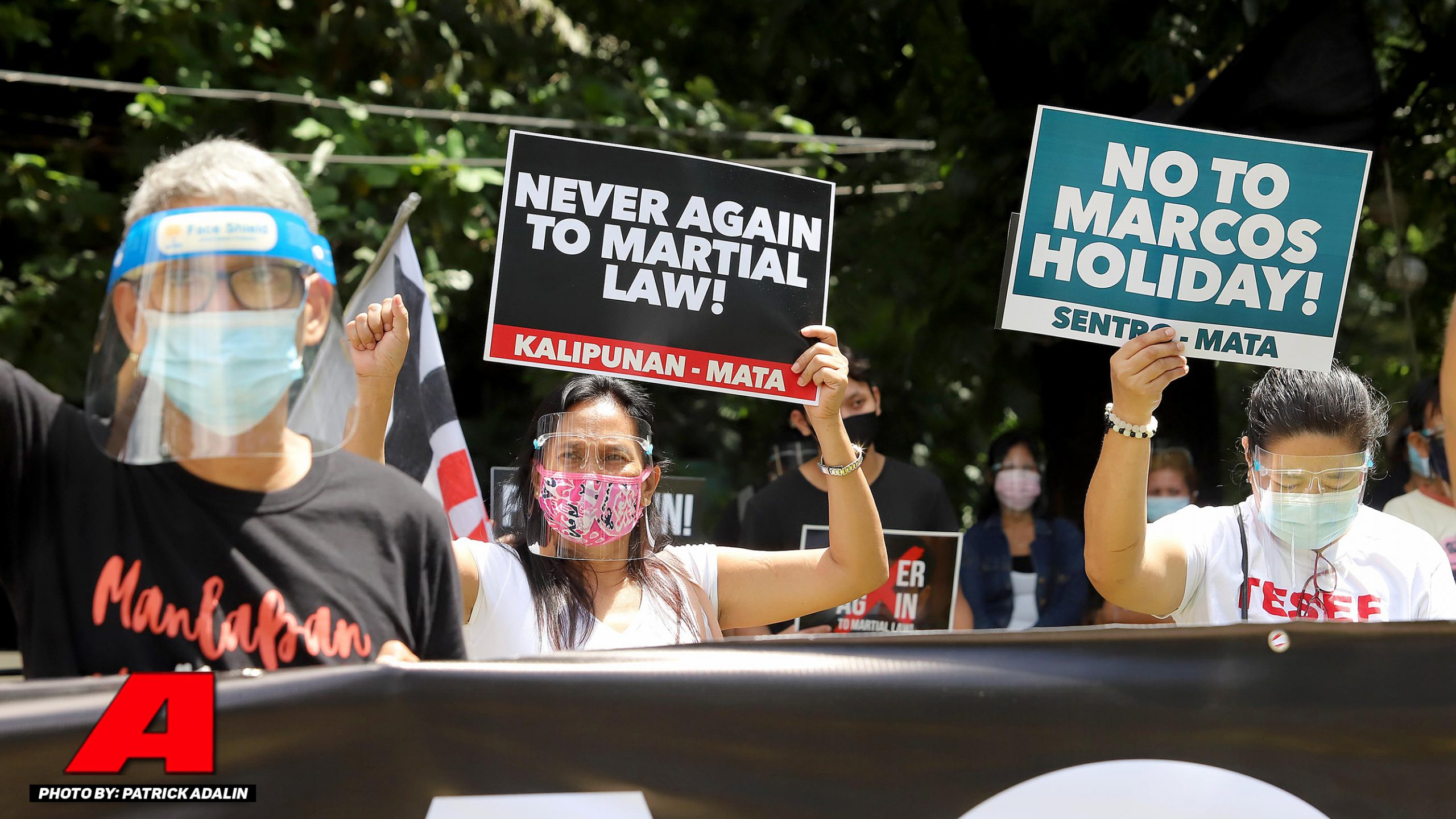 Sigaw ng raliyista sa Martial Law: NEVER AGAIN!