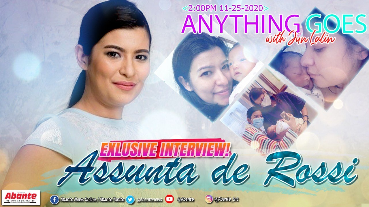 Una at exclusive interview kay Assunta de Rossi matapos manganak kay Baby Fiore