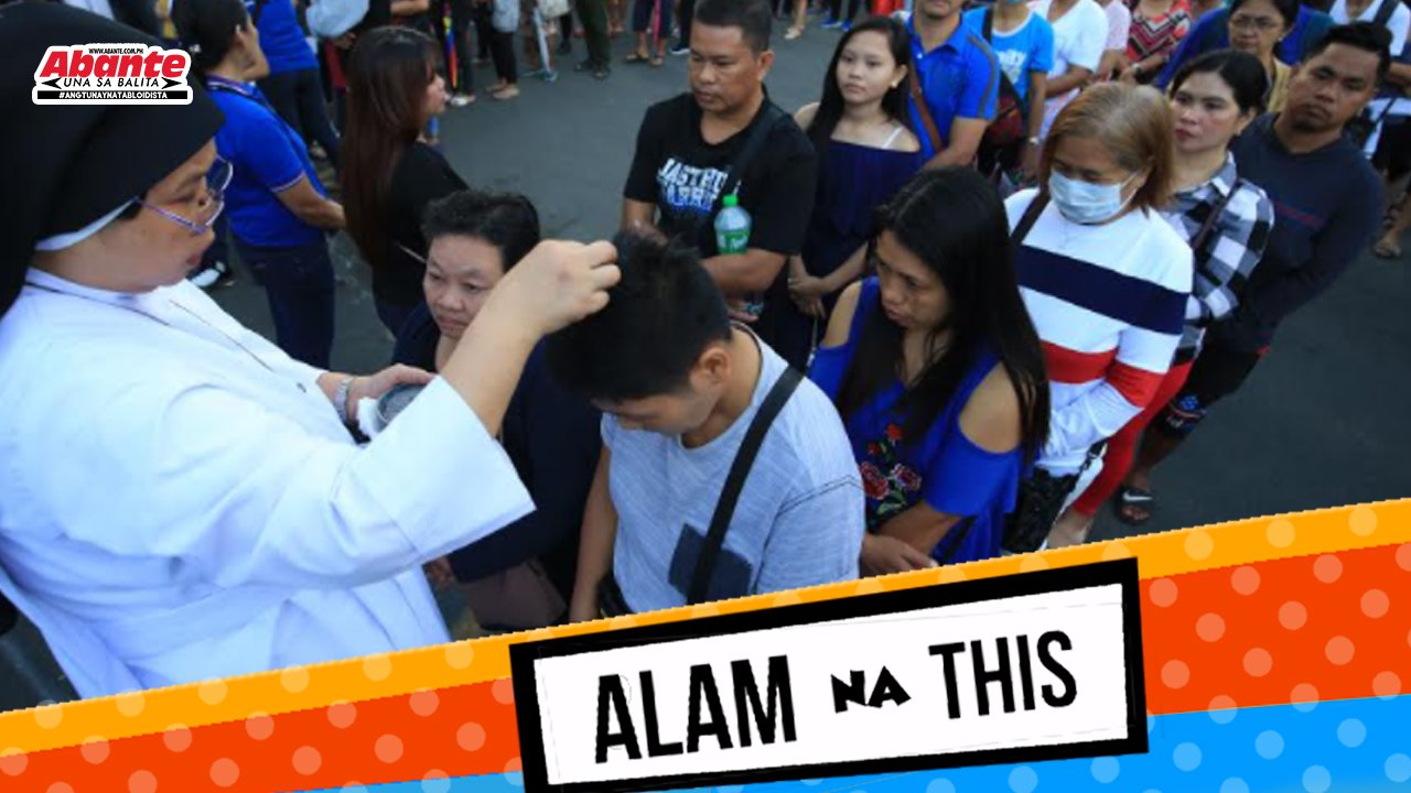 Ash Wednesday wisik na lang ng abo | Alam na this