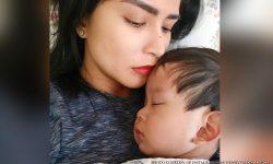 Wendy Valdez humingi ng dasal para sa anak