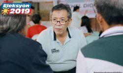 Chel Diokno umarangkada sa survey kahit walang pera