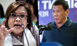 De Lima: Duterte insecure kay Roxas