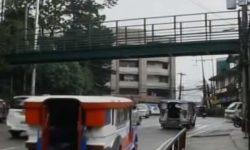 Footbridge itinengga sa Baguio, walang hagdan