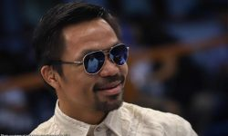 Pacquiao namigay ng pera sa Bacolod, MPBL
