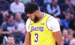 Davis dumugo ang daliri, Lakers taob pa sa Nets