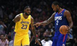 James-Davis tandem ng Lakers, walang talab kay Leonard